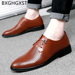 office shoes men classic brown dress Elevator shoes for men formal Coiffeur Breathable mens genuine leather ayakkab
