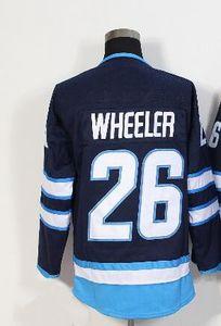 Top fan shop متجر على الانترنت Jet Alternate Pro sports Hockey Jerseys، 55 SCHEIFELE 26 WHEELER 33 BYFUGLIEN 37 HELLEBUYCN Personal Hockey wear