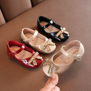 New 2020 Autumn girls shoes fashion Diamond princess kids shoes girls dress shoes kids designer shoe girls wear toddler shoe B1644