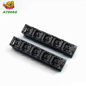 SOIC8 SOP8 a DIP8 EZ zócalo del módulo del convertidor de potencia de salida del programador del adaptador del conector 150mil SOIC 8 SOP 8 Para DIP