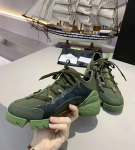 Mens Womens Shoes Comfort Lace Up Casual Connect sapatos de plataforma Paris retalhos de couro ténis passear a pé da sapatilha Chaussures