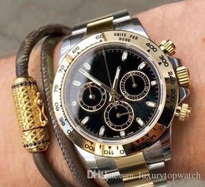 2020 Venta caliente para hombre Movimiento automático Reloj Completo Sapphire Glass Tona Series M116519 Simple Silver Strap Steel Strap Master Mens Relojes