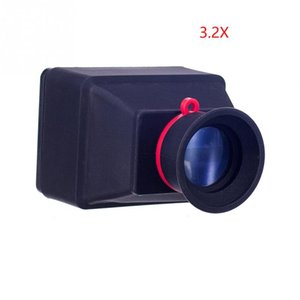 Viseur portatif en caoutchouc pour prise de vue en plein air avec loupe LCD 3X 3.2X DSLR