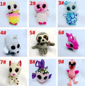 37 estilos Ty Beanie Boos peluche juguetes de peluche 10cm al por mayor grande ojos de los animales suave muñecas para los regalos para niños ty Juguetes de los ojos grandes felpa rellena BY1327
