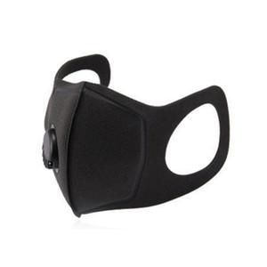 Maschera per il viso Valvola di respirazione spugna mascherina maschera Lavabile PM2. 5 antipolvere riutilizzabile anti-polvere nebbia protettiva maschere per il viso Maschere DHL Libero