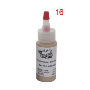 5pcs / lot TATTOO LOU SKIN TONE maquillaje permanente pigmento tinta tatuaje tinta conjunto 30ml (1OZ) conjunto tatuaje de cejas y otro arte corporal