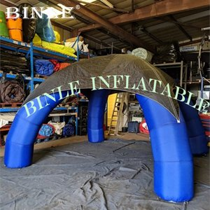 Cheap portable 3mx3m inflatable spider tent outdoor event inflatable arch tent for advertising
