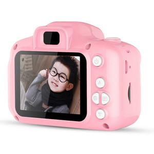 2019 حار عيد الميلاد للأطفال كاميرا رقمية صغيرة للأطفال لطيف الكرتون كاميرا 13MP 8MP كاميرا SLR لعب لهدية عيد ميلاد شاشة 2 بوصة