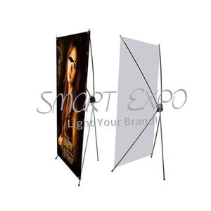 قسط الألياف الزجاجية X حامل راية خفيفة الوزن الإعلان X العرض X المعرض التجاري معدات الإطار مع كاري محمول حقيبة PVC الطباعة