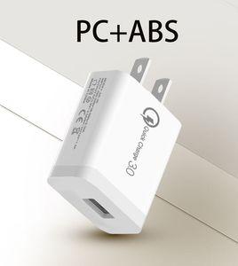 18 Вт USB зарядное устройство Quick Charge 3.0 QC3. 0 быстрая зарядка зарядное устройство для мобильного телефона iPhone Samsung Xiaomi QC 3 0 новый