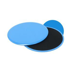 2 Pcs exercice Sliding Gliding Discs Yoga Fitness abdominale Formateurs de base curseur entraînement exercice rapide curseur formation