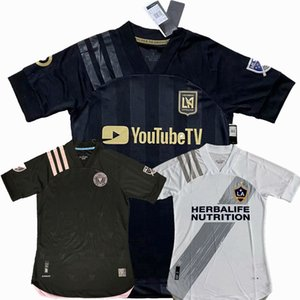 Player Version Inter 2020 2021 LA Galaxy Los Angeles FC Fußball Jerseys VELA CHICHARITO MLS Miami CF 20 21 Fußball-Spieler-T-Shirts