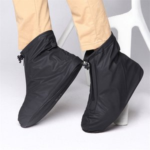 Men Women Shoes raincoat for Rain Flats Ankle Boots Cover PVC Reusable Non-slip Cover for Shoes With Internal Waterproof Layer
