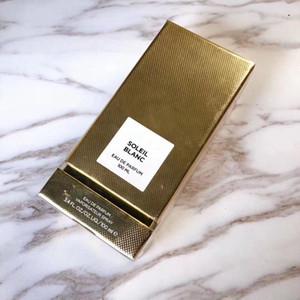 perfumes de gama alta para el hombre que dura fresca Eau de Parfum SOLEIL BLANC marca masculina del perfume EDP 100ML