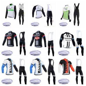 2020 Dimension Data Giant Cycling Team VELLO TERMICO Jersey (BIB) pantaloni Imposta rapido respirabile -Dry Uomini Riding Bicycle Clothesk011015