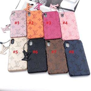Tasarımcı Telefon Kılıfı S20 S20ULTRA S20PLUS iPhone 11 11PROMAX XS MAX XR 7 8 Artı Arka Kapak Samsung S8 S9 S10 Artı S10e Note9 Note8 Kutuları