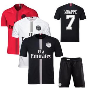 2019 männer fußball shirt fußball jesey sportbekleidung MBAPPE NEYMAR CAVNAI Europameister Cup heimmannschaft uniform GRÖßE S-XL kostenloser versand