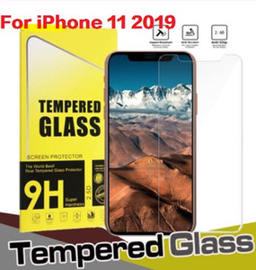 Premium Real Glass Glass Film para Apple iPhone 11 Pro 12 Mini XR MAX 6 6S 7 8 Plus XS XR Max Pantalla protectora protectora con paquete