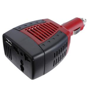 Freier Auto-Energie-Inverter-Laptop-Adapter des Verschiffen-SUVPR DC-Wechselstrom-75W für Handy GPS USB-Hafen 5V 12V DC zur Wechselstrom-Aufladeeinheit 220V
