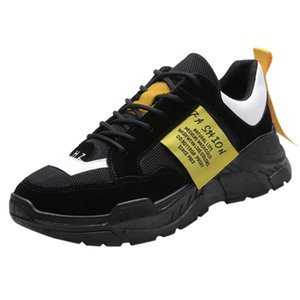 SAGACE Erkek Yaz Spor Ayakkabı Moda rahat rahat Dantel-up Mesh Nefes Kaymaz Sneakers Shoes 2020 X1226 Mesh