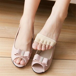 2019 New Women Toe Separator Forefoot Insole Shoes Pads High Heel Soft Insole Anti-Slip Pain Relief Foot Protection Care Liners
