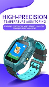 FZ6 Kids smart watch Forehead Temperature smartwatch IP67 Waterproof SOS Positioning fitness tacker montre intelligente For Phone Fast DHL