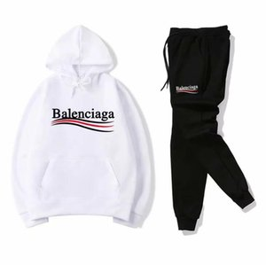 Spring Autumn Brand Mens Clothing Youth Casual Coats Sportswear Suit champion Pollover hoodie Pants Tracksuits Men Sporting Suit SweatSuits