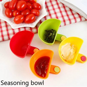 Dip Bowl for Assorted Salad Sauce Ketchup Jam Flavor Sugar Spices Dip Clip Cup Bowl Saucer Kitchen Accessories gadgets Preferred