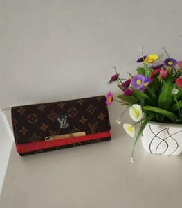 3A+2019 Hot Women Fashion Long Wallet Clutch Brand Quality Designer Ladies Designer Purse Clutch Free Shipping 008
