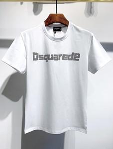 DSQUARED2 D2 DSQUARED 2 DSQ 20ss Disco Punk Baskı İtalya Tasarımcılar T-GÖMLEK Erkekler Gömlek Streetwear Erkek Kadın Şort Tişört Harajuku Kısa Tee Giyim DT593 Tops