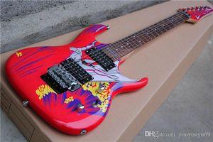 Seiko Productions, Qualität, limitierte Surfen Modus Joe Satriani Signature Red E-Gitarre mit Floyd Rose Tremolo Brücke 151-1, Angebot