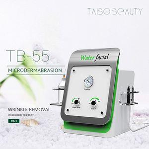Pro Water Dermabrasion Professional حجم صغير يسهل حمله Hydro Dermabrasion Hydra الوجه العناية بالبشرة آلة التطهير العميق