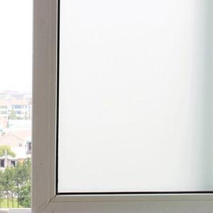 Blanc Sable Pâte à fenêtre film électrostatique non-adhésif Transparent Protect Privacy