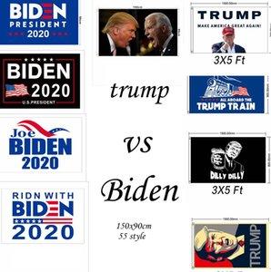 Флаг США 90X150CM Дональд Трамп V S Джо Байден на пост президента 2020 Trump Keep America Отлично подходит для президента партии баннера флага LJJK2196-1