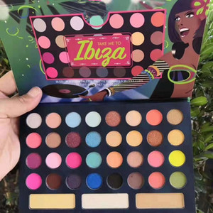 New Arrived 35 Color Eyeshadow Palette Take Me To Ibiza Pressed Eye Pigment Shadow Palettes Matte&Shimmery Waterproof Eyes Makeup Free Ship