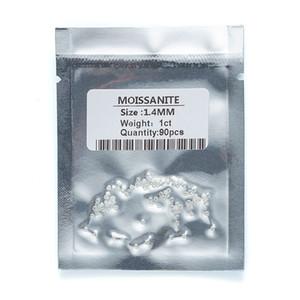 pureté gros haut de petite taille 1,4 VS1 ~ 1.7mm coupe ronde blanc mêlée diamant lâche moissanite