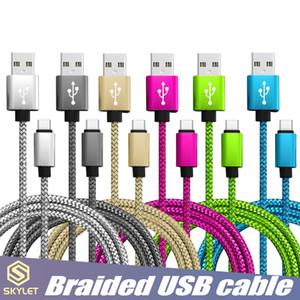 SKYLET USB 케이블 빠른 범용 핸드폰에 대한 데이터 동기화 전화 케이블 코드 USB C 타입 C 마이크로 USB 충전
