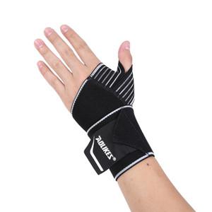 Bandas AOLIKES Sports pulso Suporte de pulso Strap Wraps Mão Entorse Recuperação pulseira para ciclismo ténis Ginásio Acessórios