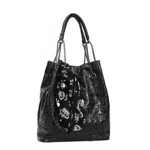 OCARDIAN сумки Сумки для женщин 2019 Большой мешок плеча способа черепа цепи леди Tote плеча Dropship M26