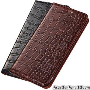 Ультра тонкий чехол для телефона Asus ZenFone 3 Zoom ZE553KL Роскошный кожаный чехол для Asus ZenFone 3 Zoom Флип чехол с держателем карты