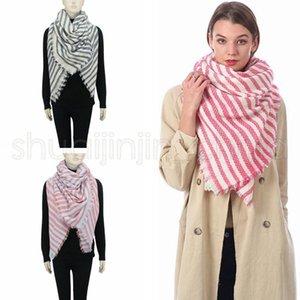 Moda Donna Banda lavorata a maglia Sciarpe esterna causale calda inverno Crochet sci Sciarpa signora Knit Scarf Viaggi 10pcs TA1668