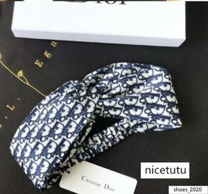 2020 New Designers Headbands for Women and Men 2 Styles Headband Letters Hair bands Head Scarf For hair jewelry Gifts