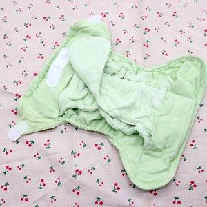 Couches Lavables bébé en tissu lavable DiaperCover réutilisable Langes EA2 Nappy Avec Bamboo Cotton Insert prédoublée couches All In Two