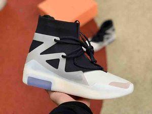 Gottesfurcht Designer-Mode Faulenzer LuxuxMens off Schuhe Turnschuhe für Männer Outdoor-Trainer weiß Basketball-Sneaker Booties läuft 7-13,5