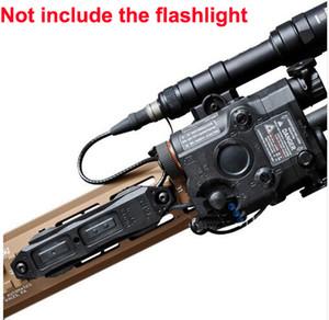 الادسنس التكتيكية زيادة الضغط التبديل تبديل مزدوج للصيد المصباح LA-PEQ 15 / LA-5 UHP و M300 / M600