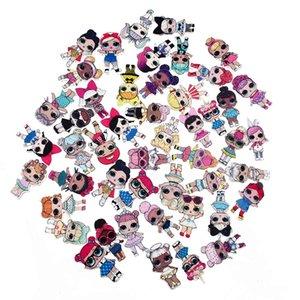 Mode Charms LOL mixte acrylique Big Eye filles charme pour BOUE remplisseurs bricolage élastique Hairrope Épingle Broche Cute Girl résine Charms Bijoux