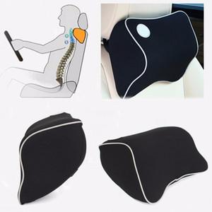 3d spazio nero seggiolino auto testa collo resto massaggio memory foam cuscino cuscino auto testa ritenuta supporto poggiatesta alleviare l'affaticamento SH190713