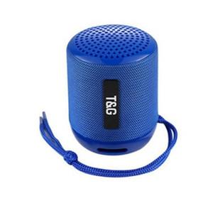 미니 휴대용 TG129 블루투스 스피커 무선 서브 우퍼 스테레오 하이파이 사운드 박스 핸즈프리 FM TF USB AUX 실외 스피커 오디오 플레이어 DHL