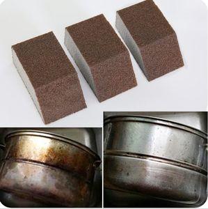 Carborundum Schwamm Küchenwasch Topf Dekontamination und Entrostung sponge Schrubben bowl Topf dish Schalenbecher Reinigungsschwamm Großhandel Bev