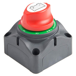 LOONFUNG LF214 3 Position Disconnect Isolator Master Switch 12-60V Battery Power Cut Off Kill Switch for Car Vehicle RV Boat Marine